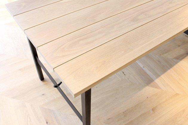 「CLASKA(クラスカ)」の「Iron Brace ダイニングテーブル」