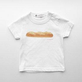 フランスパンのTシャツ 80 ベビー