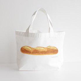 フランスパンのトートバッグ S