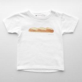 フランスパンのTシャツ 100 キッズ