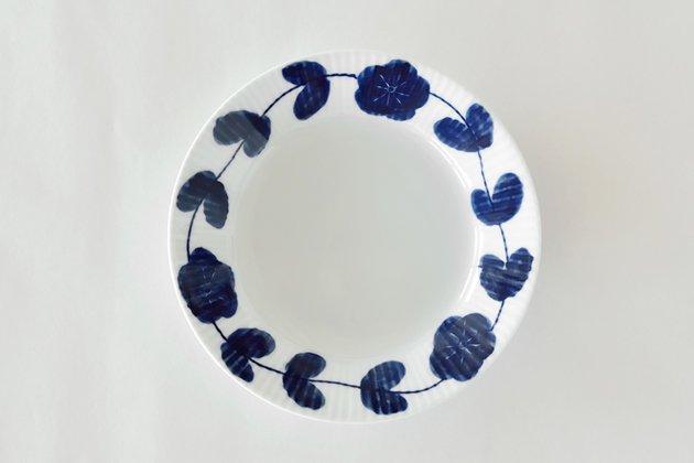 皓洋窯の花つなぎ5.5寸皿