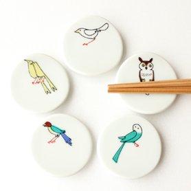 小鳥の箸置きセット A