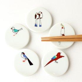 小鳥の箸置きセット B