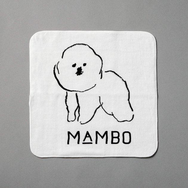 「CLASKA(クラスカ)」のMAMBO(マンボ)ガーゼハンカチーフ
