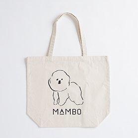 MAMBO トートバッグ L ナチュラル