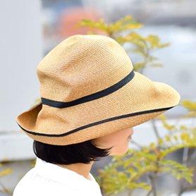 BOXED HAT 101SW ミックスブラウン×ブラック