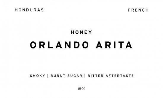 ORLANDO ARITA     HONDURAS /200g