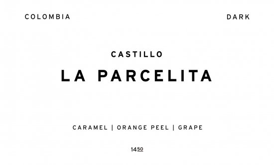 LA PARCELITA - DARK -  |  COLOMBIA  /200g