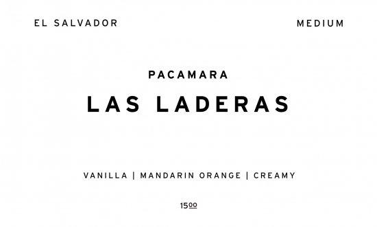 LAS LADERAS      EL SALVADOR  /200g
