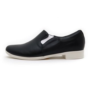 <span> chausser[ショセ]</span>TRAVEL SHOES by chausser TR-003 スリッポン BLK