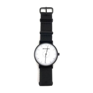<span>MR.BOHO〔ミスターボーホー〕</span>67-BW CASUAL Watch