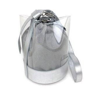 <span>theory luxe〔セオリーリュークス〕</span>0160927 Pvc Luxe Bucket バッグ 060.SILVER