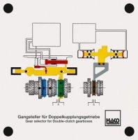 デュアルクラッチトランスミッション用変速機