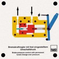 圧力制御付ブレーキレギュレーター