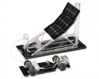燃料電池自動車と水素ガスステーション