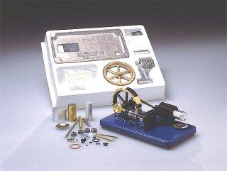 ガラスシリンダー・スターリングエンジン機械加工キット