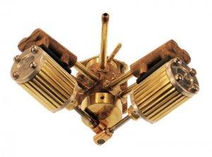 8M V型ツインスチームエンジンキット(加工済)