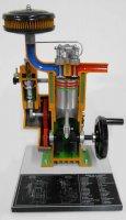 4サイクル・ディーゼルエンジン説明模型