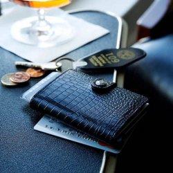 SECRID セクリッド(シークリッド) ミニウォレット クロコダイル型レザー ナイル Miniwallet Nile カードケース 財布