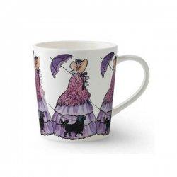 Elsa Beskow エルサべスコフ 手付きマグカップ Aunt Lavender むらさきおばさん デザインハウス ストックホルム / DESIGN HOUSE Stockholm
