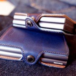 SECRID セクリッド(シークリッド) ツインウォレット インディゴ5 indigo5 カードケース 財布