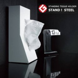 STAND!STEEL ティッシュホルダー