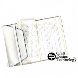 Craft Design Technology / クラフトデザイン 革シリーズ ブックカバー(ホワイト)RAPH2-064W