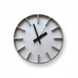掛け時計 北欧 シンプル 静かなスイープムーブメント レムノス AZUMI edge clock (S) AZ0116 アルミ