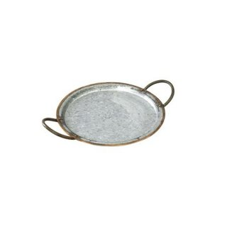 GALVA BOTH HANDLE TRAY