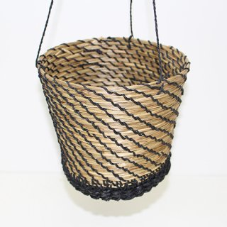 HANGING POT M/BLACK