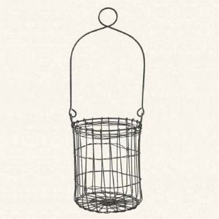 DECOR WIRE HANDLE BASKET