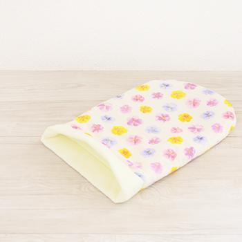 パンジー ガーゼ寝袋 ピンクS