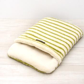 ボーダー吸湿発熱おふとん寝袋 Mサイズ