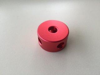 3. 丸ナット φ30-16 カラー 赤色