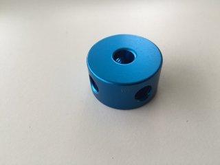 3. 丸ナット φ30-16 カラー 青色