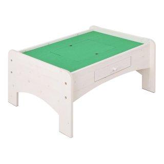 天然木プレイテーブル 90cm幅 ホワイト 【送料無料】