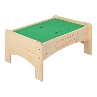 天然木プレイテーブル 90cm幅 ナチュラル 【送料無料】