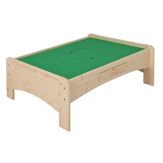 天然木プレイテーブル 120cm幅 ナチュラル 【送料無料】