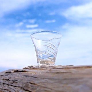 【kiroroan】「たゆら」ガラスショットグラス