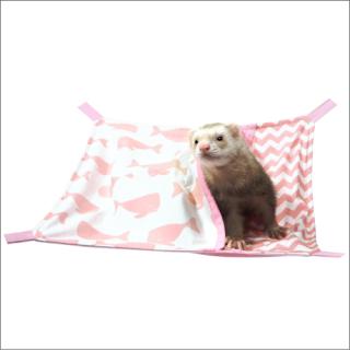 スイスイくじらハンモック:ピンク