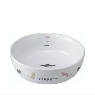 フェレットのラウンド食器 ES-18