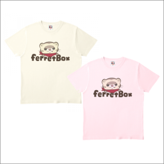 ferret boxカラーロゴ Tシャツ