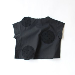 <img class='new_mark_img1' src='https://img.shop-pro.jp/img/new/icons14.gif' style='border:none;display:inline;margin:0px;padding:0px;width:auto;' />UNEVEN DOTS PULLOVER BLACK    フランキーグロウ(FRANKY GROW )