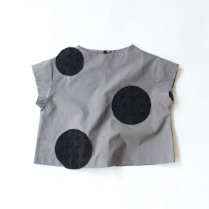 <img class='new_mark_img1' src='https://img.shop-pro.jp/img/new/icons14.gif' style='border:none;display:inline;margin:0px;padding:0px;width:auto;' />UNEVEN DOTS PULLOVER GRAY    フランキーグロウ(FRANKY GROW )