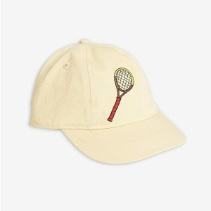 <img class='new_mark_img1' src='https://img.shop-pro.jp/img/new/icons20.gif' style='border:none;display:inline;margin:0px;padding:0px;width:auto;' />30%OFF TENNIS CAP / YELLOW /  ミニロディーニ(mini rodini) 2020ss