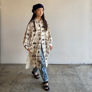 <img class='new_mark_img1' src='https://img.shop-pro.jp/img/new/icons14.gif' style='border:none;display:inline;margin:0px;padding:0px;width:auto;' />Dreaming Long Shirts / BLACK / GRIS (グリ)2020aw