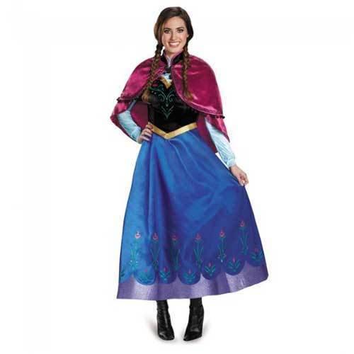アナと雪の女王 アナ ドレス コスチューム レディース Mサイズ