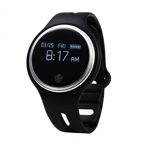 スマートウォッチ E07 丸形デジタル腕時計 日本語対応 ブルートゥース iPhone Android対応