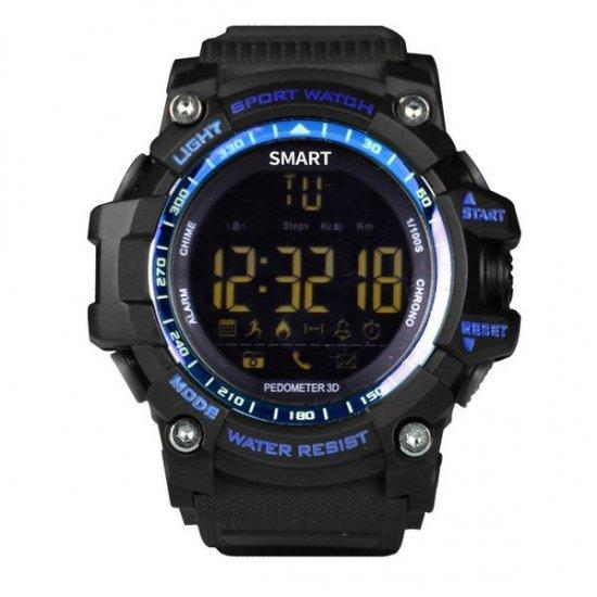 スマートウォッチ EX16 スポーツ/運動ウォッチ 防水 長時間バッテリー Bluetooth 歩数、距離、カロリー消耗 多機能腕…