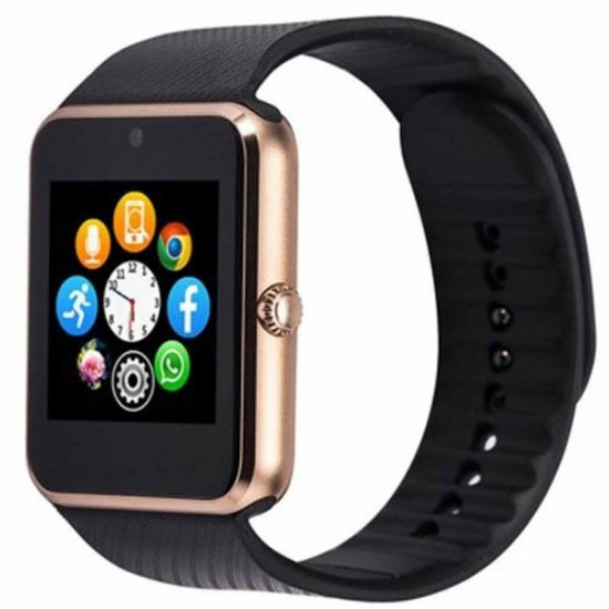 スマート ウォッチ Smart Watch GT08 Bluetooth接続 Android搭載 四角形 歩数/カロリー計算など多機能 腕…